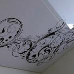 Вензель потолок
