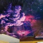 Космос потолок