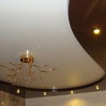 Натяжные потолки фото1